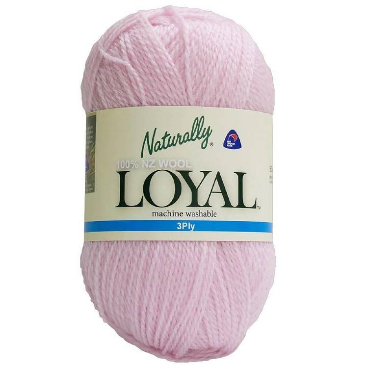 Naturally Loyal Plain 3 Ply Yarn
