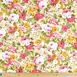 Floral Cottons Packed Rose