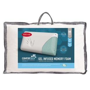 Tontine Gel Infused Memory Foam Pillow