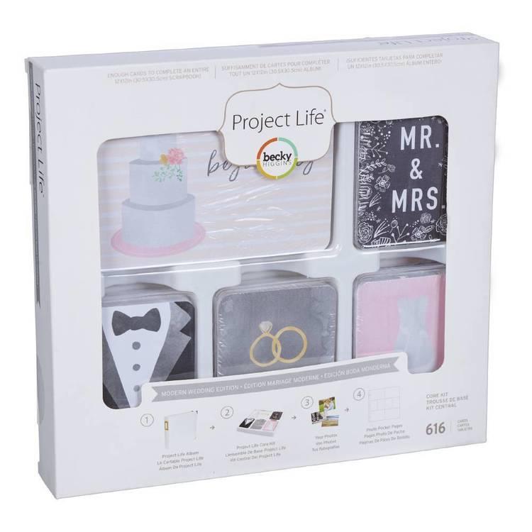 Project Life Modern Wedding Core Kit