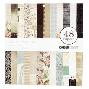 Kaisercraft Antique Essentials Paper Pad