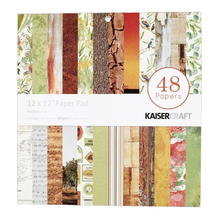 Kaisercraft Australiana Paper Pad