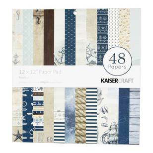 Kaisercraft Nautical Paper Pad