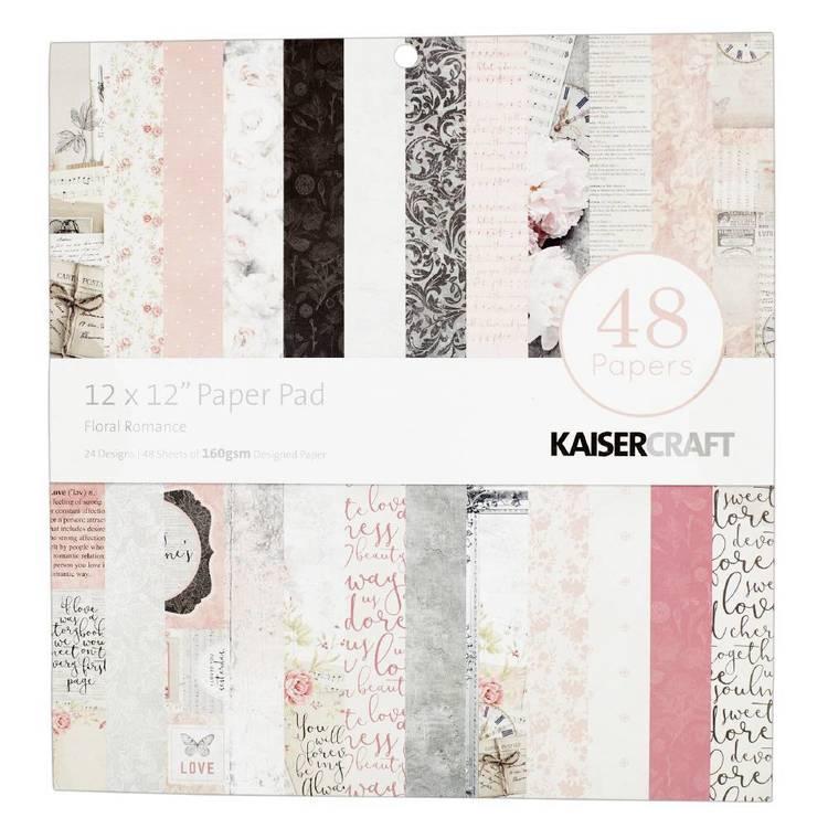 Kaisercraft Floral Romance Paper Pad