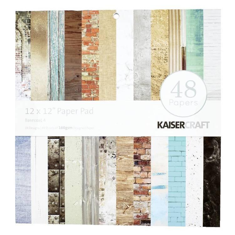 Kaisercraft Basecoat 4 Paper Pad
