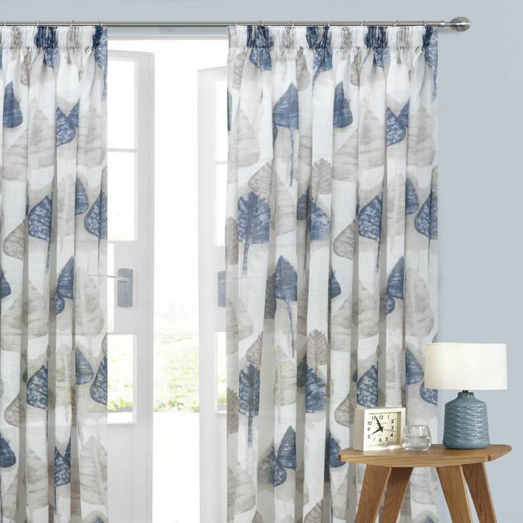 Caprice Oregon Pencil Pleat Curtains Multicoloured