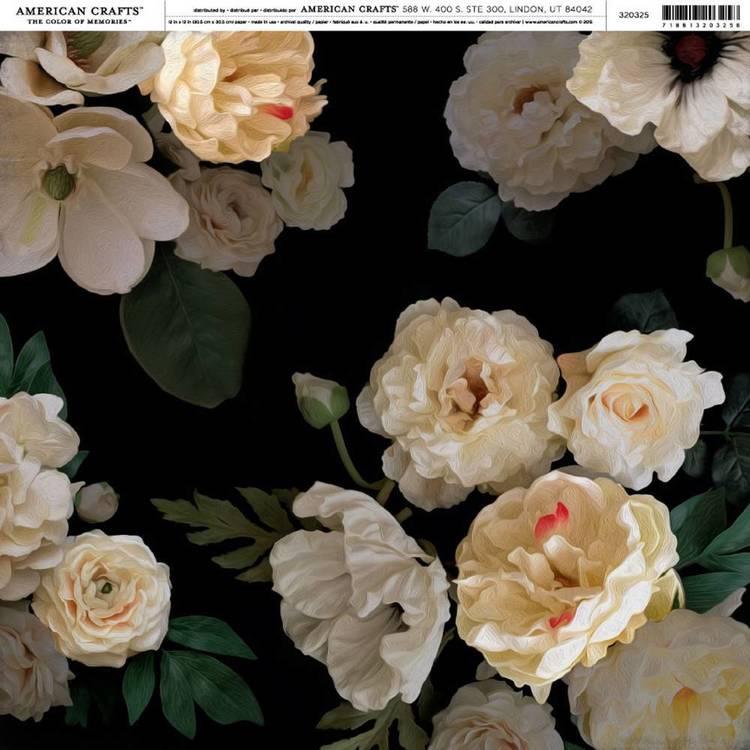 American Crafts Magnolia Jane Floral Print