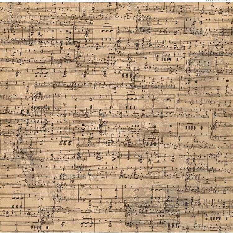 American Crafts Music Print