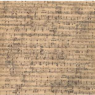 American Crafts Music Print