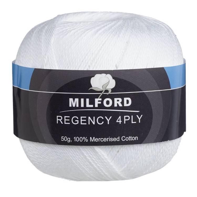 Milford Regency 4Ply 50 g Cotton Yarn