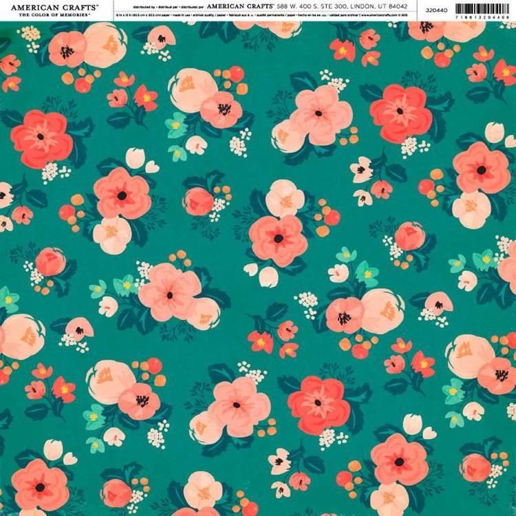 American Crafts Wild Spring Print