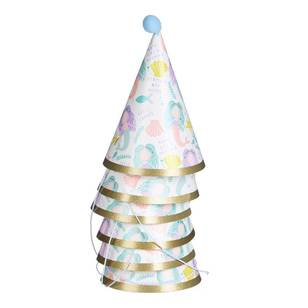 Mermaids Pom Pom Party Hat