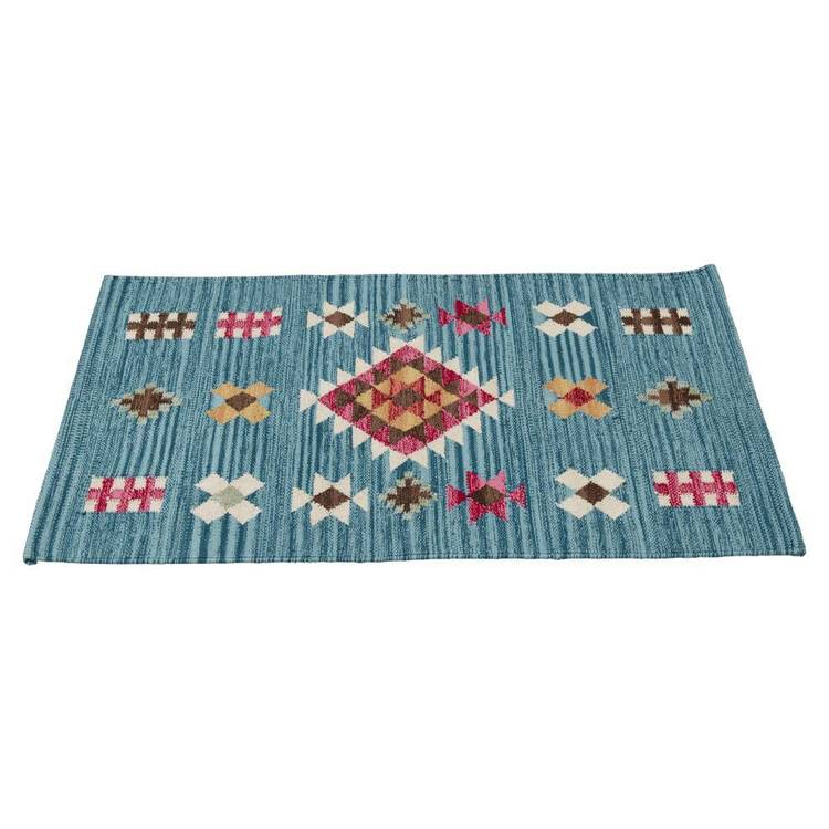Living Space Colourful Aztec Doormat