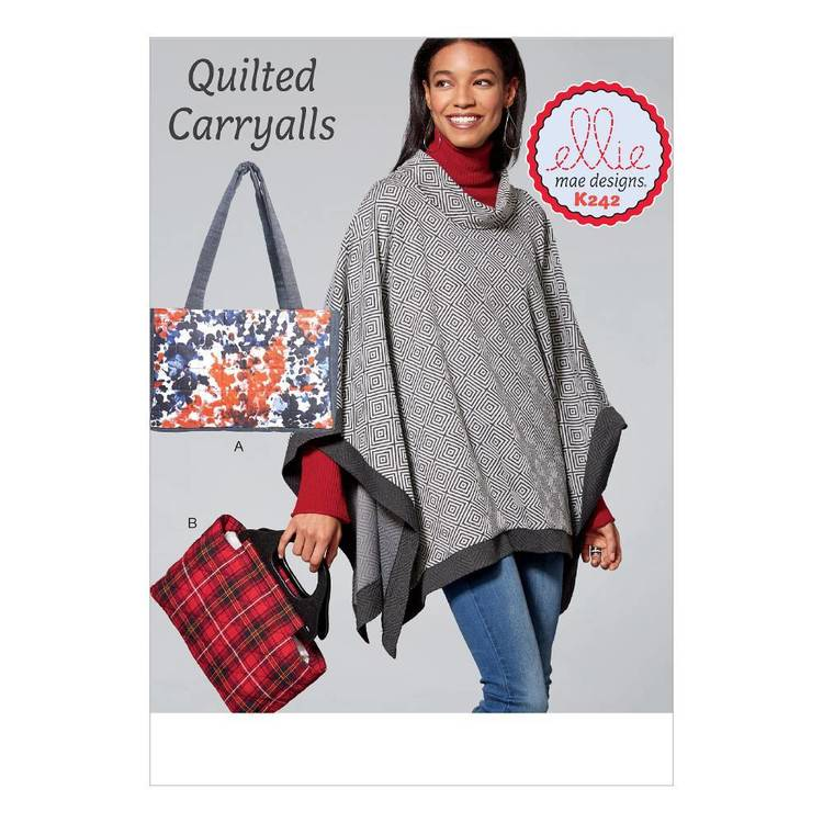 Kwik Sew Pattern K0242 Quilted Bags