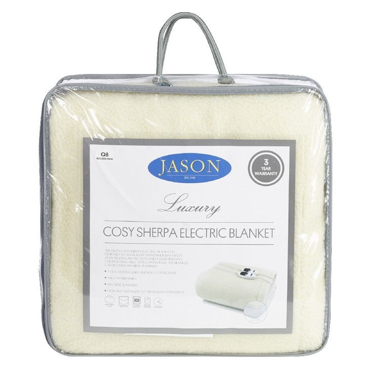 Jason Sherpa Electric Blanket
