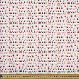 Michael Miller Fabrics Long Triangles Fabric