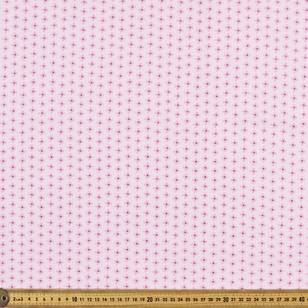 Daisy Dot Printed Flannelette Fabric