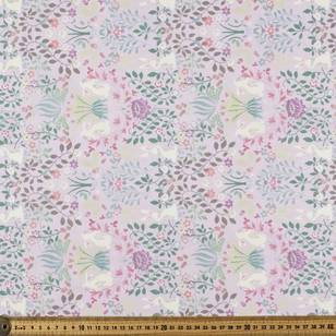 Country Garden Bunny Garden Fabric