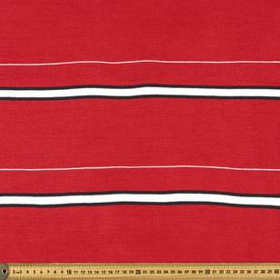 Striped Ribbing Fabric