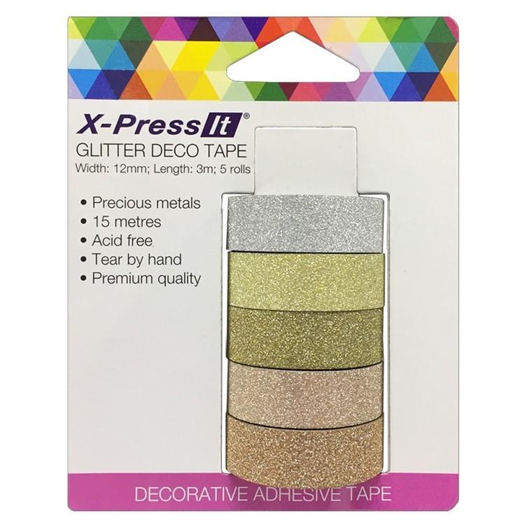 X-Press It Tape Metals 5 Pack