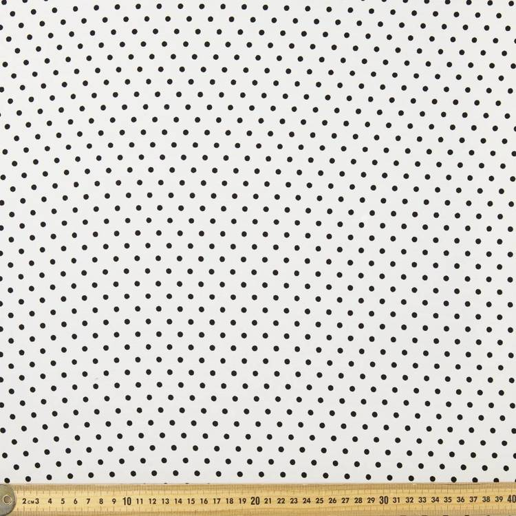 Dots Printed 148 cm Polyester Fabric