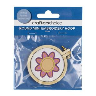 Crafters Choice Round Mini Embroidery Hoop