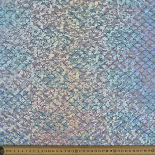 Mermaid Scales 2 Way Stretch Fabric