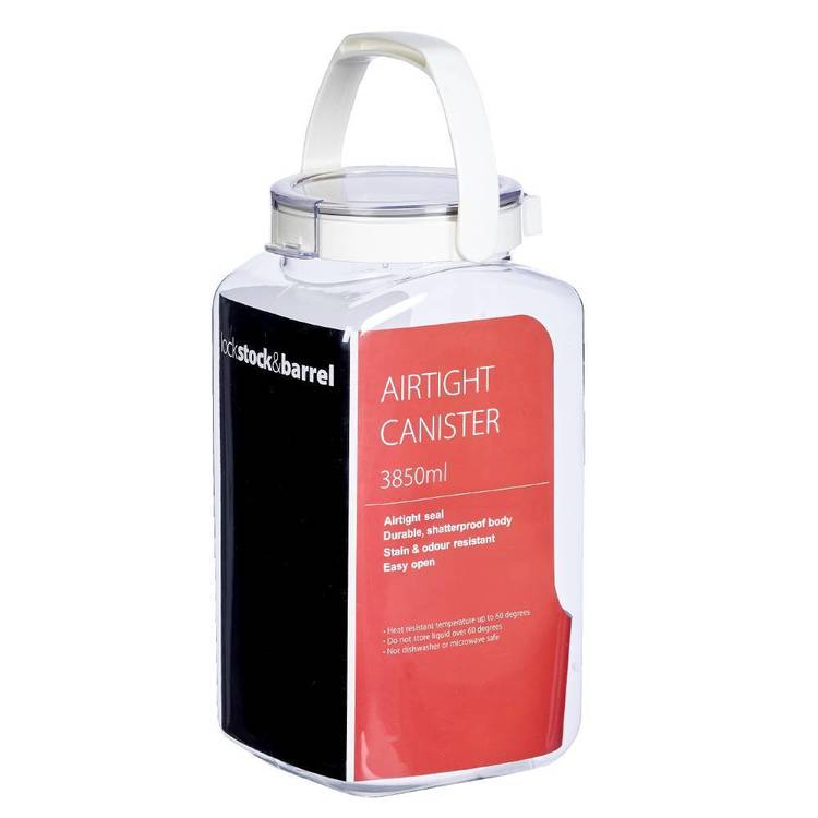 Lock Stock & Barrel Airtight Canister Storage