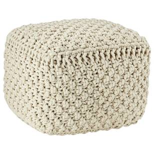 Bouclair Global Soul Knit Ottoman