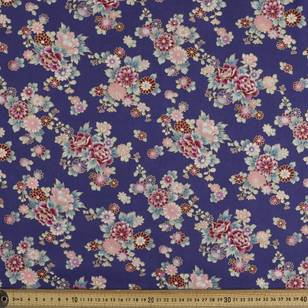 Oriental Chrysanthemum Fabric