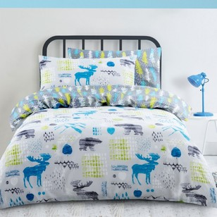 Kids House Rocky Mountain Quilt Cover Set