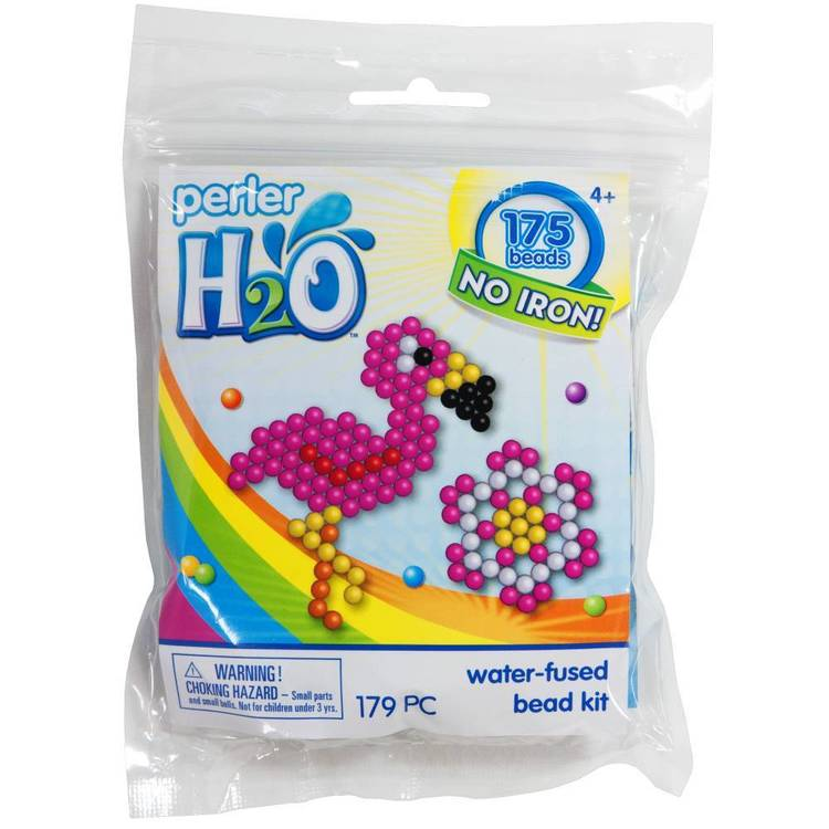 Perler H2O Flamingo Kit  Multicoloured