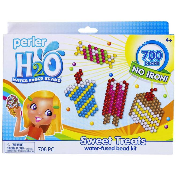 Perler H2O Treat Box Kit Multicoloured