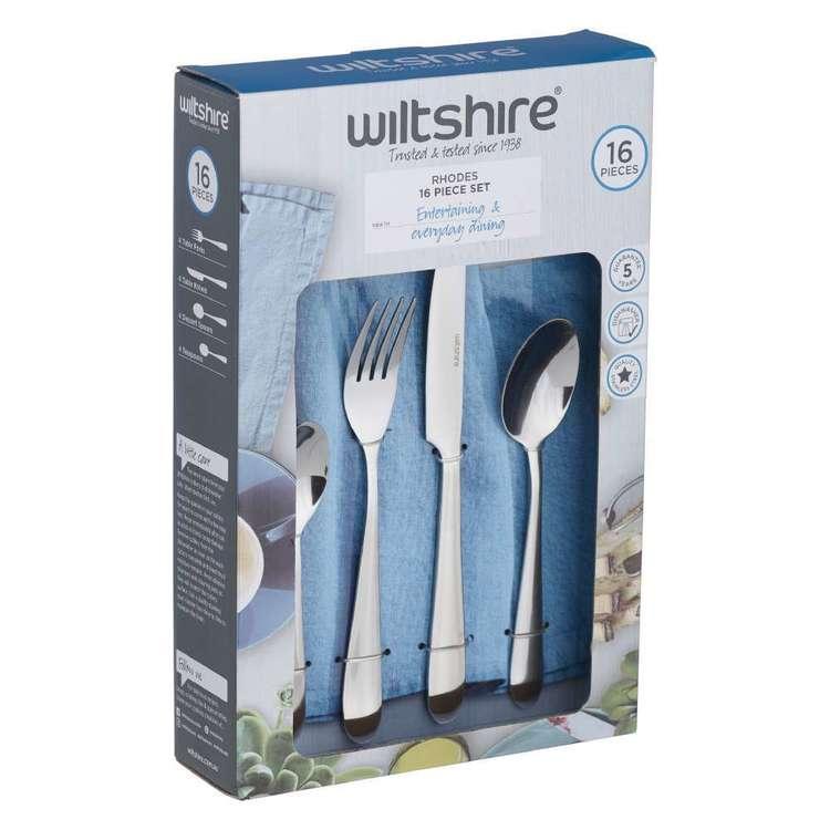 Wiltshire Rhodes 16 Piece Cutlery Set