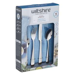 Wiltshire Rhodes 16 Piece Cutlery Set