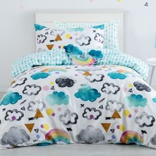 Ombre Blu Magical Sky Quilt Cover Set
