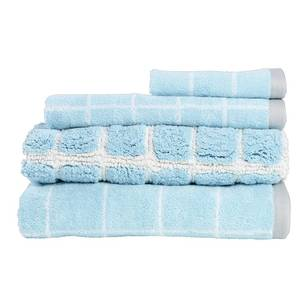 Linea Home Manhattan Grid Towel Collection