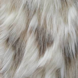 Snowshoe Hare Deluxe Fur Fabric