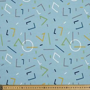 French Terry Geo 2 155 cm Fabric