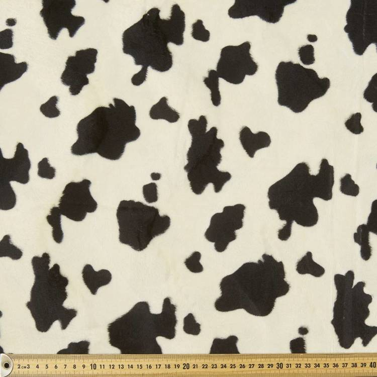 Animal #4 Printed Velour Fleece Fabric
