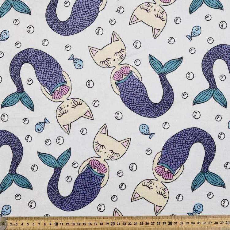Minky Fleece Purmaid 148 cm Fabric