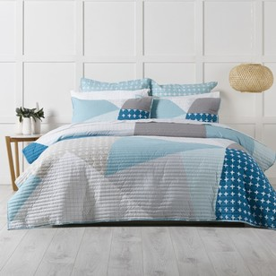 KOO Olsen Quilted Quilt Cover Set