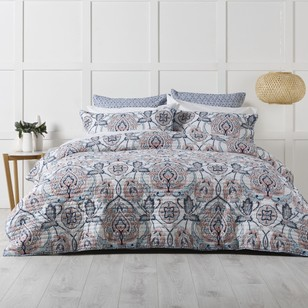 KOO Baroque Quilted Quilt Cover Set