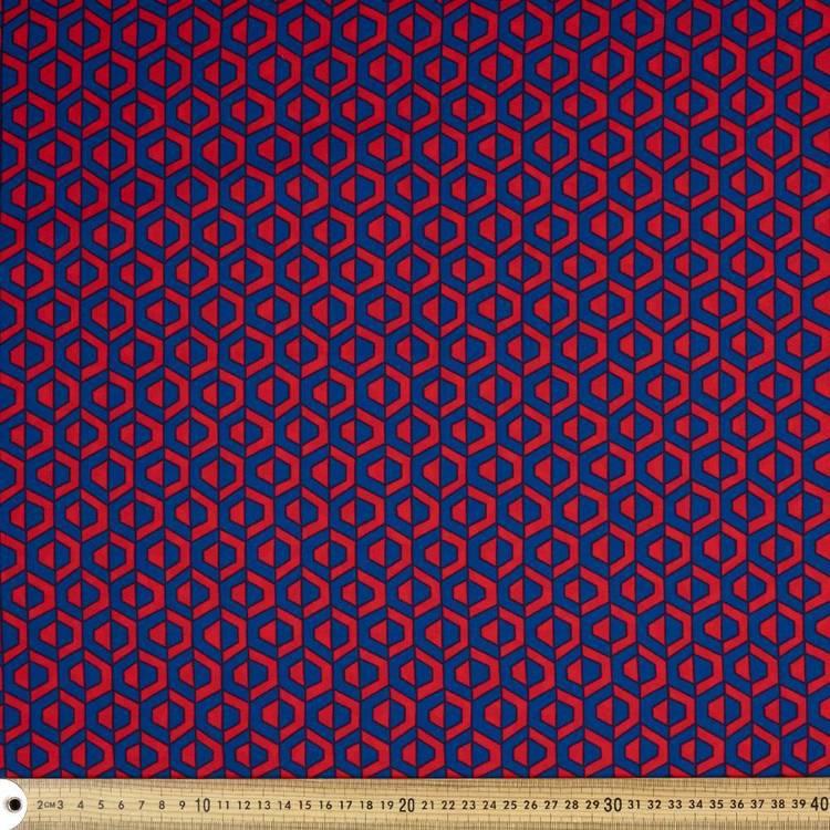 Hemmers Printed Satin #4 148 cm Fabric