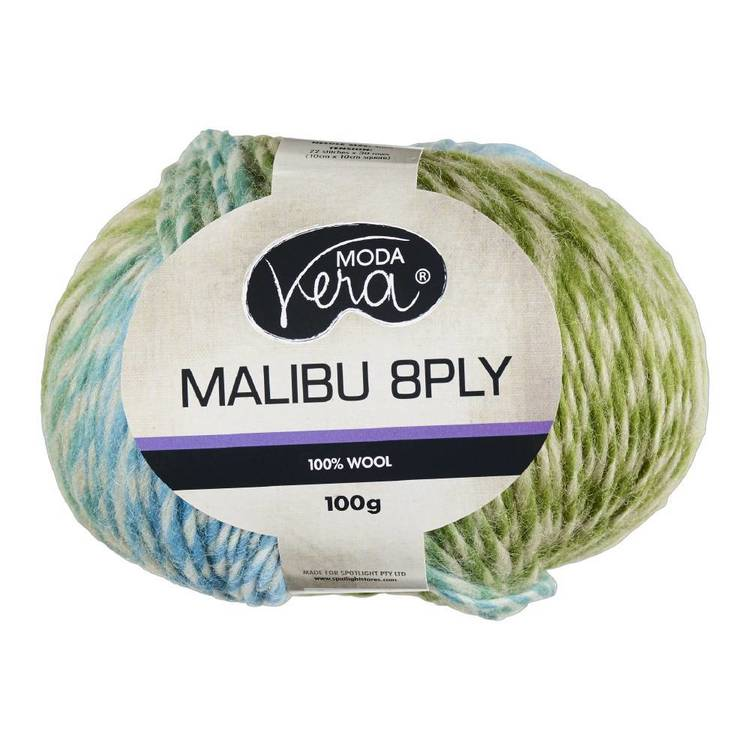 Moda Vera 100 G Malibu 8Ply Wool Yarn