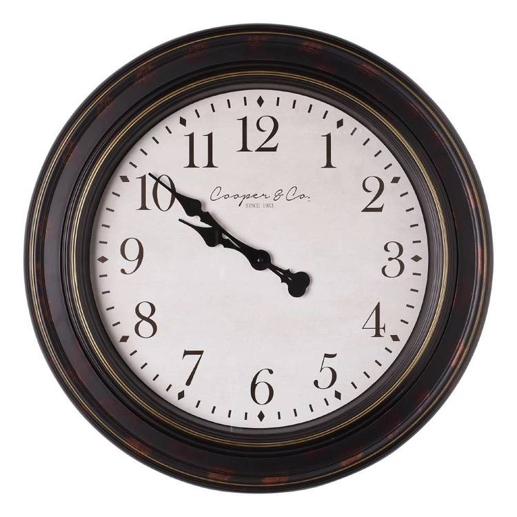 Cooper & Co Jumbo Railway Clock