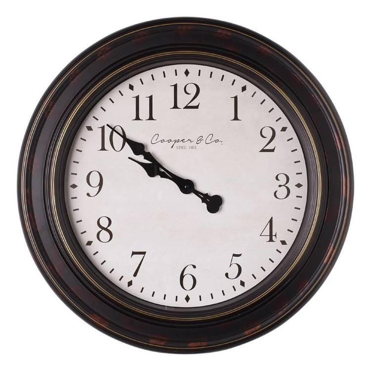 Cooper & Co Jumbo Railway Clock