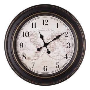 Cooper & Co Jumbo Atlas Clock