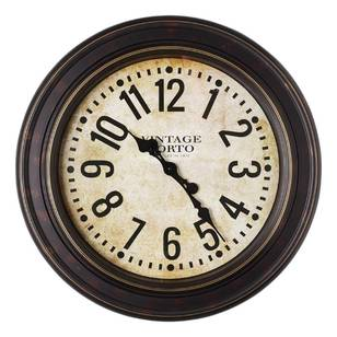 Cooper & Co Jumbo Vintage Port Clock