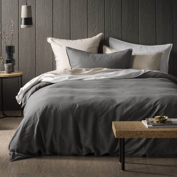 Hotel Savoy Pure Linen Quilt Cover Set